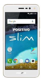 Positivo Slim S510 Dual SIM 8 GB Dourado 1 GB RAM