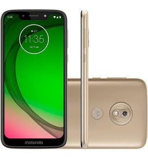 Smartphone Motorola Moto G7 Play Xt1952 Dourado Tela5.7 32gb