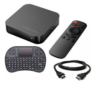 Droid Box Plus X View Convertidor Tv Smart Hd Hdmi Teclado