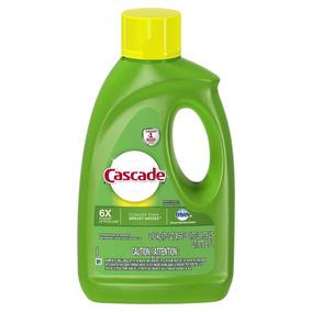 10 Botellas De 2.12k Cascade Abrillantador Vajilla Detergent
