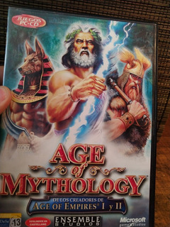 Juego De Pc Age Of Mythology Microsoft Genuino En Cd