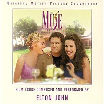 Cd Elton John The Muse Trilha Sonora Novo Lacrado Original