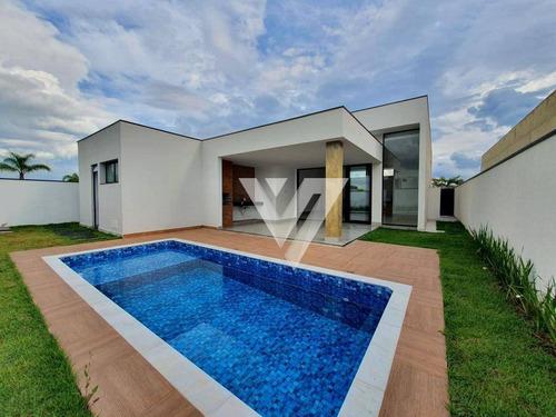 Casa Com 3 Dormitórios À Venda, 241 M² Por R$ 1.590.000,00 - Alphaville Nova Esplanada Iii - Votorantim/sp - Ca1213