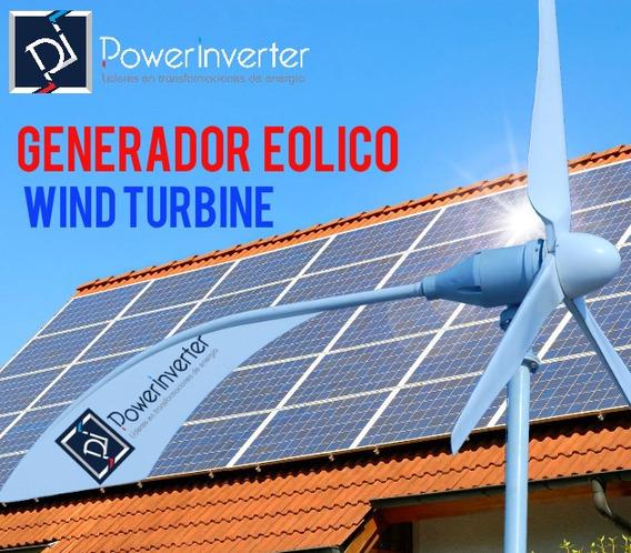 Turbina Eolica - Kit Full - Alto Rendimiento 48v/2000w
