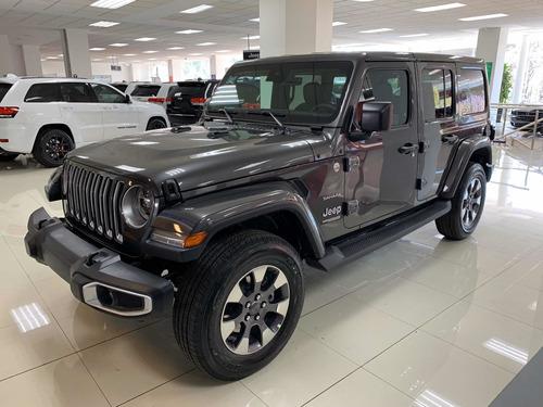 Imagen 1 de 13 de Jeep Wrangler 2021 3.7 Unlimited Sahara 3.6 4x4 At