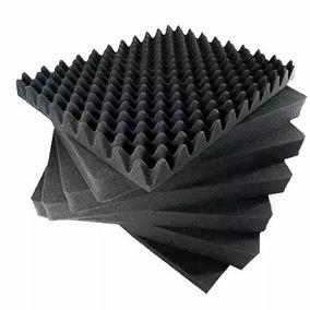 Espuma Acústica Kit C/ 10 Placas 50cmx50cmx3,5cm