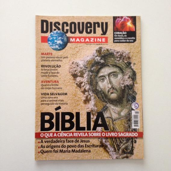 Revista Discovery Magazine Bíblia O Que A Ciência Revela N°5