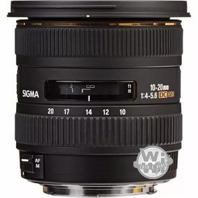 Sigma 10-20mm F:4-5.6 Ex Dc Hsm (nikon Usado)