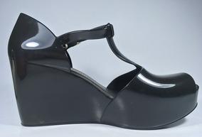 7d6525ca01 Scarpin Anabela Boneca Preto - Sapatos no Mercado Livre Brasil