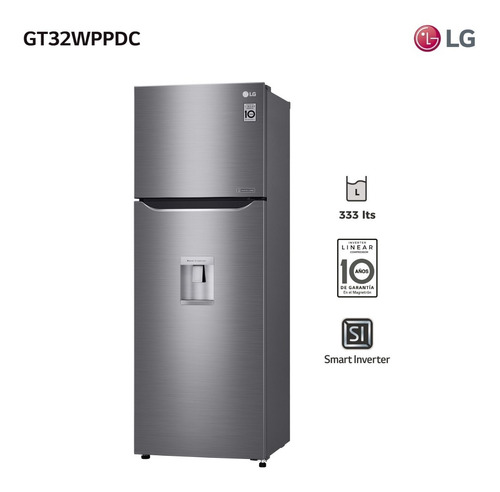 Refrigerador Omega 2 C/d 312l LG Gt32wppdc- Garantía Oficial