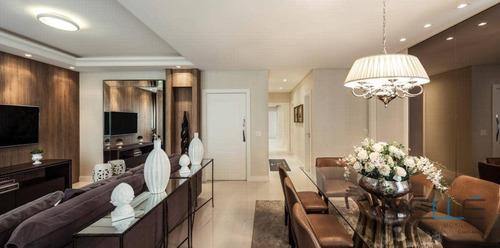 Cobertura Com 4 Dormitórios À Venda, 322 M² Por R$ 6.560.000,00 - Centro - Balneário Camboriú/sc - Co0010