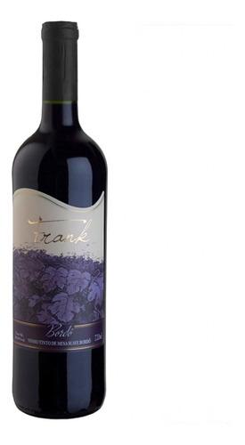 Imagem 1 de 1 de Vinho Tinto Suave Bordô 720ml - Frank