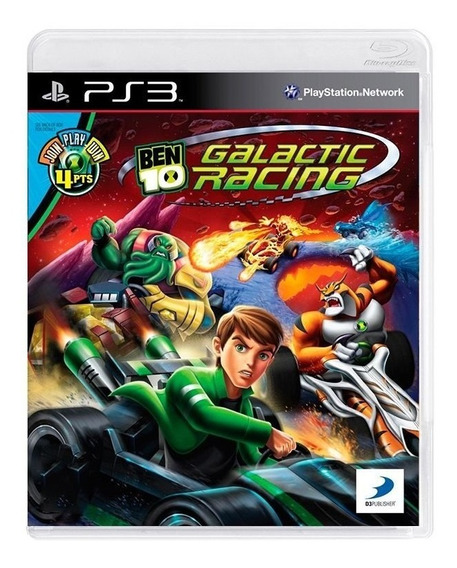 Game - Ben 10: Galactic Racing - Ps3