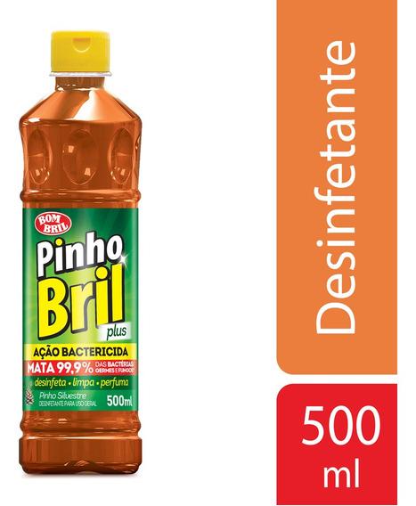 Desinfetante Pinho Bril Silvestre Plus Pet 500ml