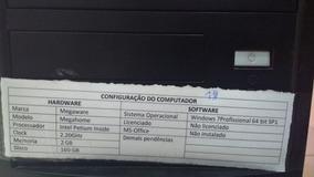 Cpu Megaware 1gb Ram 2.60ghz Pentium Inside