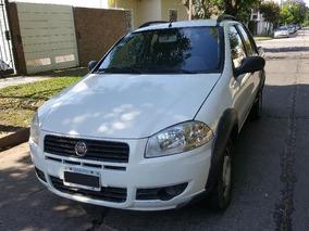 Fiat Strada Working Cabina Doble 1.4 2013 Con Gnc Italiano