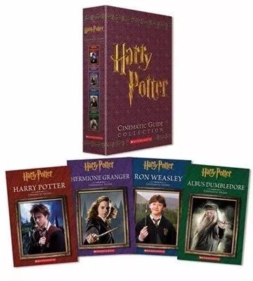 Coleção - 4 Livros - Box Harry Potter - Guia Cinematográfico