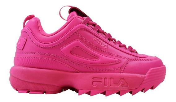 Zapatillas Fila Disruptor 2 Premium Fucs De Mujer