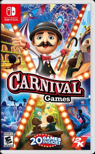 Imagen 1 de 1 de Carnival 20 Games - Nintendo Switch Fisico Sellado