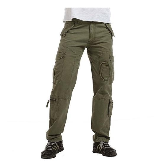 Militar Pantalones Hombres Al Aire Libre Casual Táctico Pan