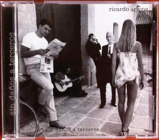 Ricardo Arjona. Sin Daños A Terceros. Cd Original, Nuevo