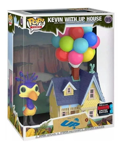Funko Pop! Town 05 Kevin With Up House - Candos Jugueteria