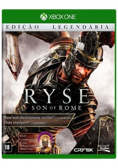Ryse Son Of Rome Xbox One Midia Fisica - Ed. Lendaria - Novo