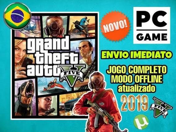 Grand Theft Auto V (gta 5) Pc Mídia Digital