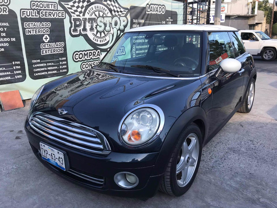 Mini Cooper 1.6 Chili Aa Tela/piel Qc At 2008