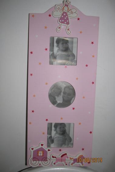 Portaretratos Princesas Para Colgar 3 Fotos
