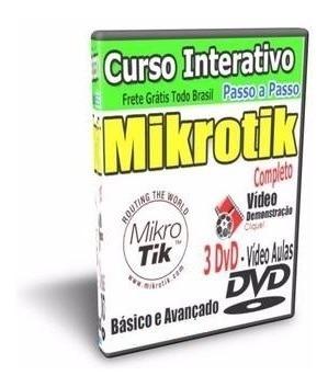 Curso Completo Mikrotik + Balance + Mk-auth +thunder+brinde!