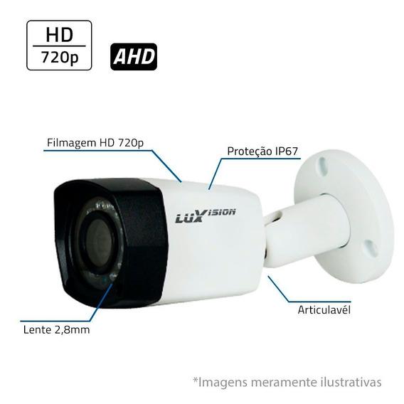 Câmera Bullet Luxvision Ahd Lvc5280b Infravermelho 20 Mt