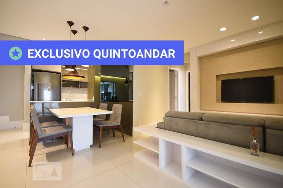 Apartamento No 11º Andar Mobiliado Com 2 Dormitórios E 2 Garagens - Id: 892952441 - 252441