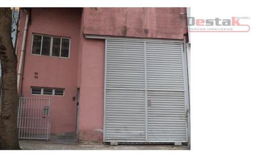 Salão Comercial Para Locação, Rudge Ramos, São Bernardo Do Campo. - Sl0017