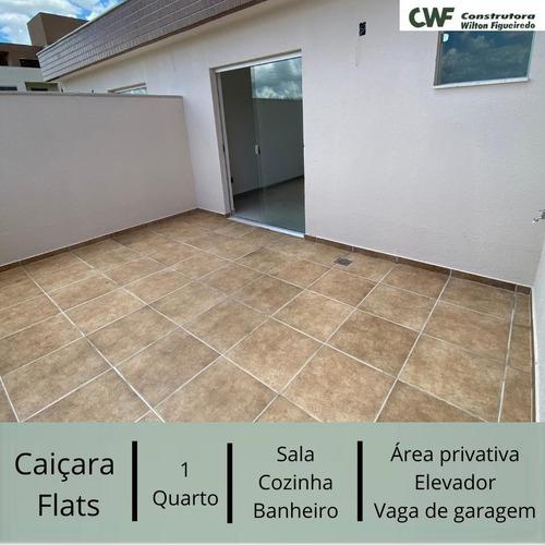 Flat Com 1 Quartos Para Comprar No Caiçaras Em Belo Horizonte/mg - Lis2134