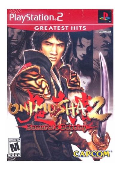 Jogo Mídia Física Onimusha 2 Samurai Destiny Original Ps2