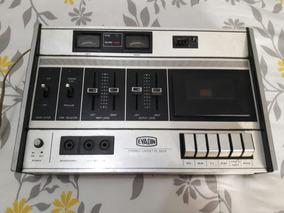 Gravador Antigo Evadin Tape Deck Td7218 - No Estado