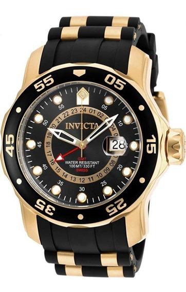 Relógio Masculino Invicta 6991 Pro Diver Ouro 18k Original