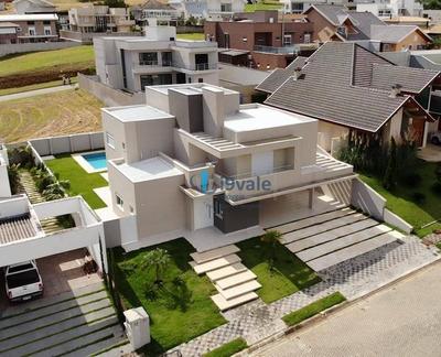 Casa Residencial De Luxo À Venda, Condomínio Reserva Do Paratehy, São José Dos Campos. - Ca1031