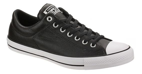 Converse Zapato Cuero Negro
