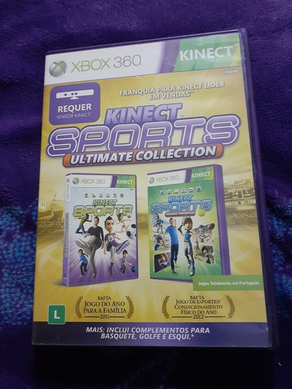 Jogo Do Xbox 360Kinect Sposts Ultimate Collection