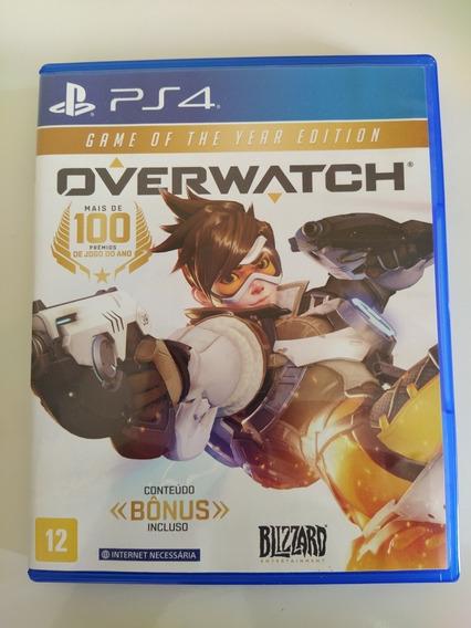 Jogo Overwacth Ps4 Playstation 4 Novo Mídia Física