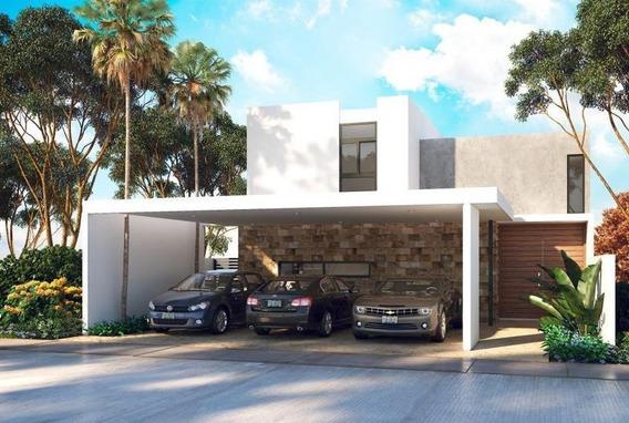 Venta Casa En Mérida- Privada Amidanah- Temozón!! En Mayo Paneles Solares De Regalo