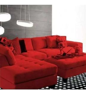 Sillon Esquinero Sofa Camastro Botones + Camastro 220x160