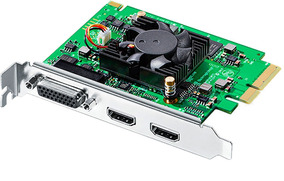Blackmagic Intensity Pro 4k Pci-e Hdmi Video Componente Rca
