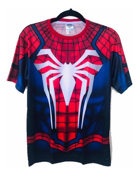 Camiseta Spider Man, Homem Aranha, Game, Ps4, 2017