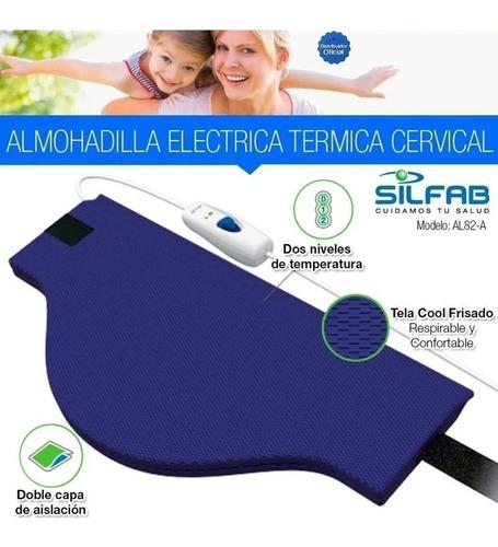 Almohadilla Eléctrica Térmica Silfab Cervical Cuello Al82