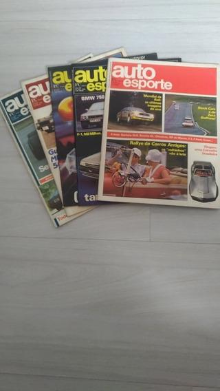 Revista Auto Esporte Ano 1988/1989-9 Exemplares