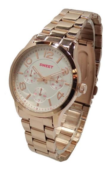Reloj Sweet Boston Rose Acero Mujer Garantia Tienda Oficial