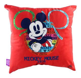Almofada 40x40 Veludo Mickey 90 Anos Zc 10063819